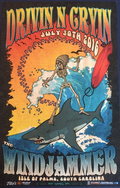 Image of Windjammer Posters/ Free Shipping!