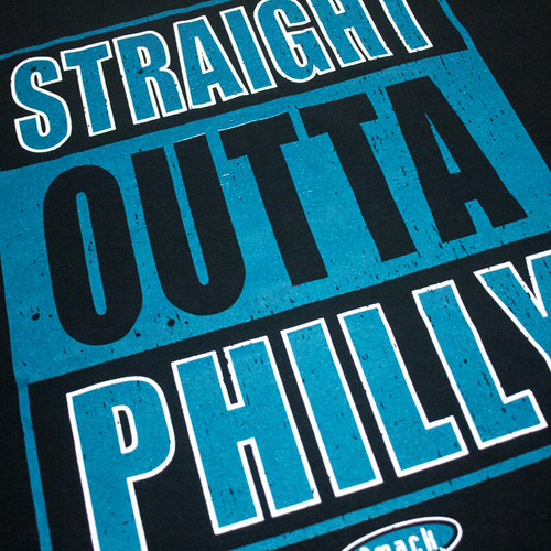 Image of Straight Outta Philly T-shirt Size L