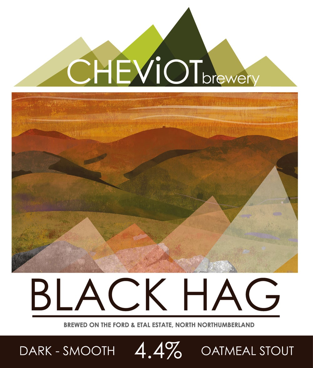 Image of MINI CASK - Black Hag Stout -  5L (8.5 pint mini cask)