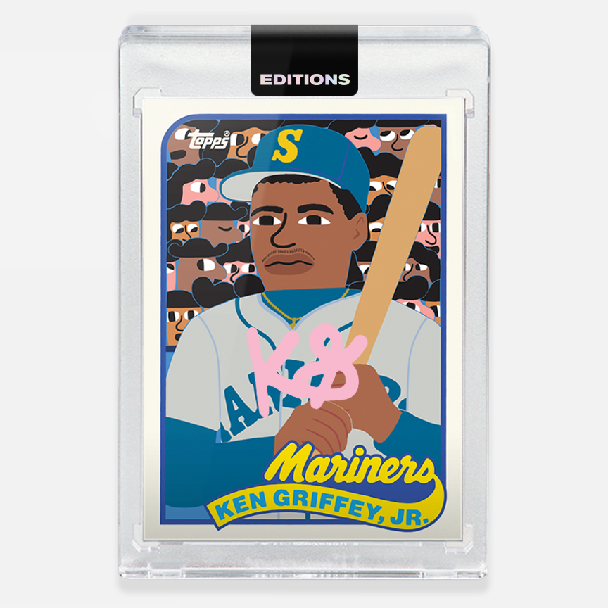 Image of 1989 Griffey Jr. 'Pink'