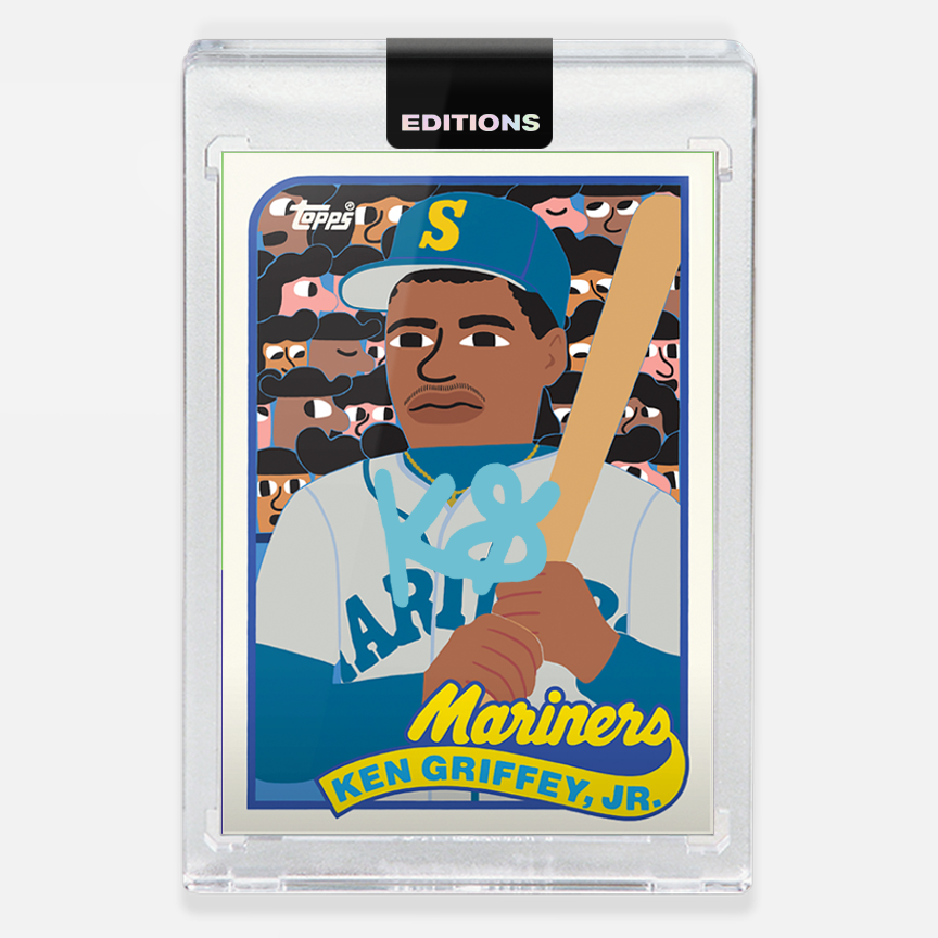 Image of 1989 Griffey Jr. 'Teal'