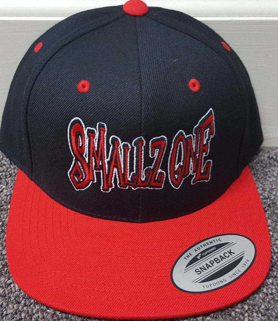 Image of SMALLZ ONE:  EMBROIDERED  SNAPBACK HAT