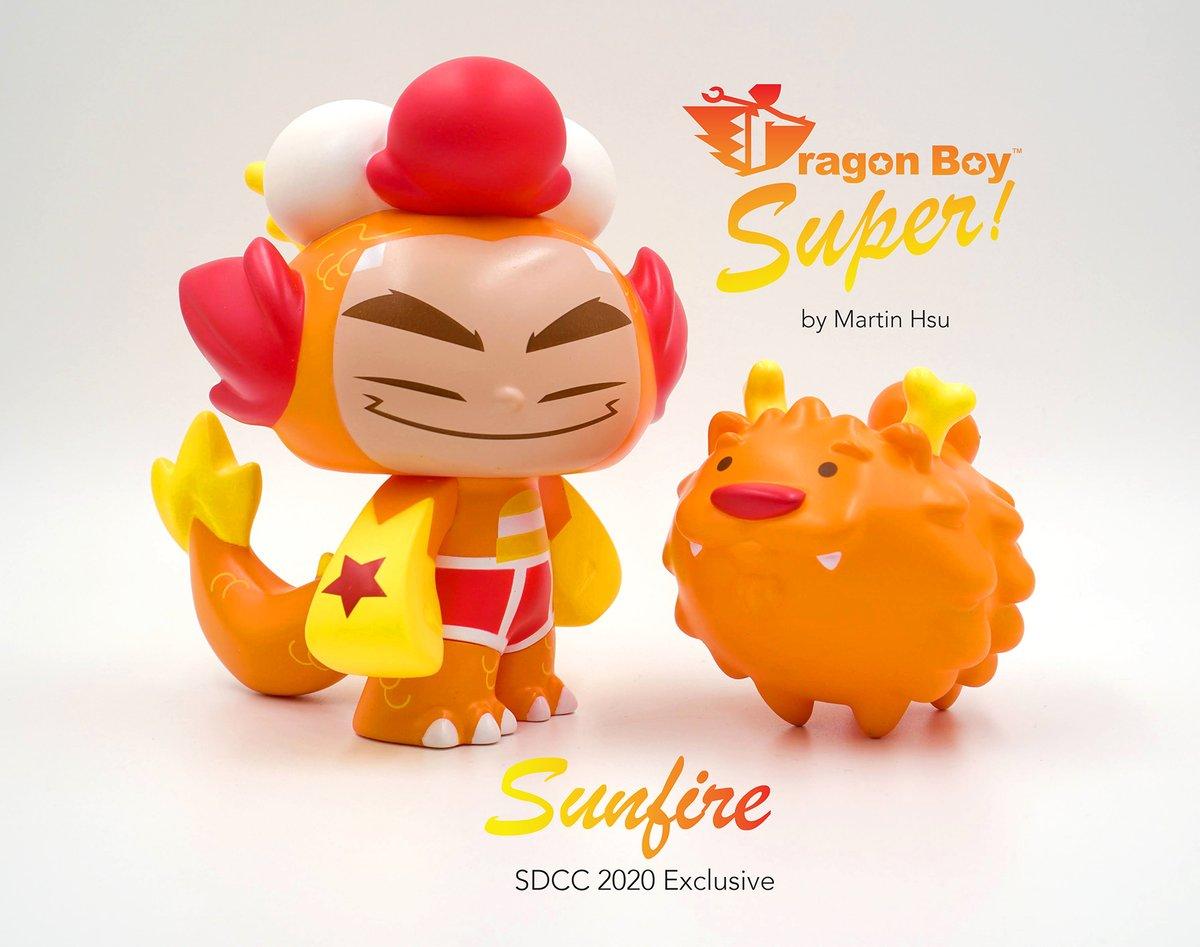 Dragon Boy Super SUNFIRE SDCC 2020 Exclusive