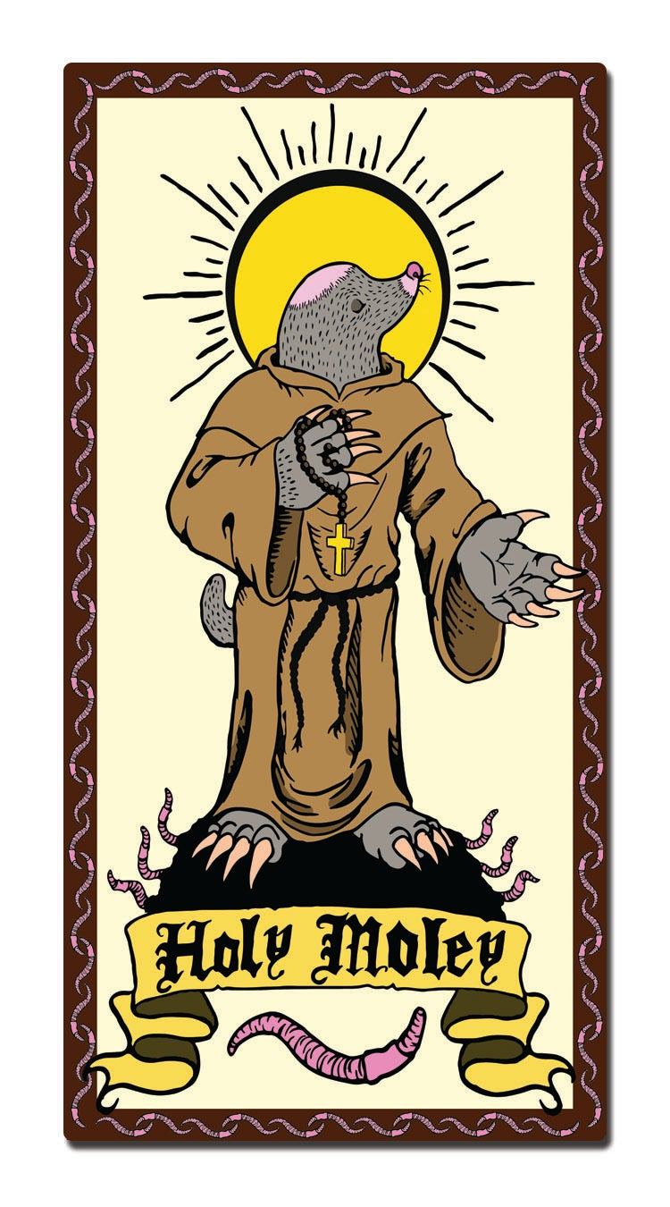 Image of Holy Moley Sticker
