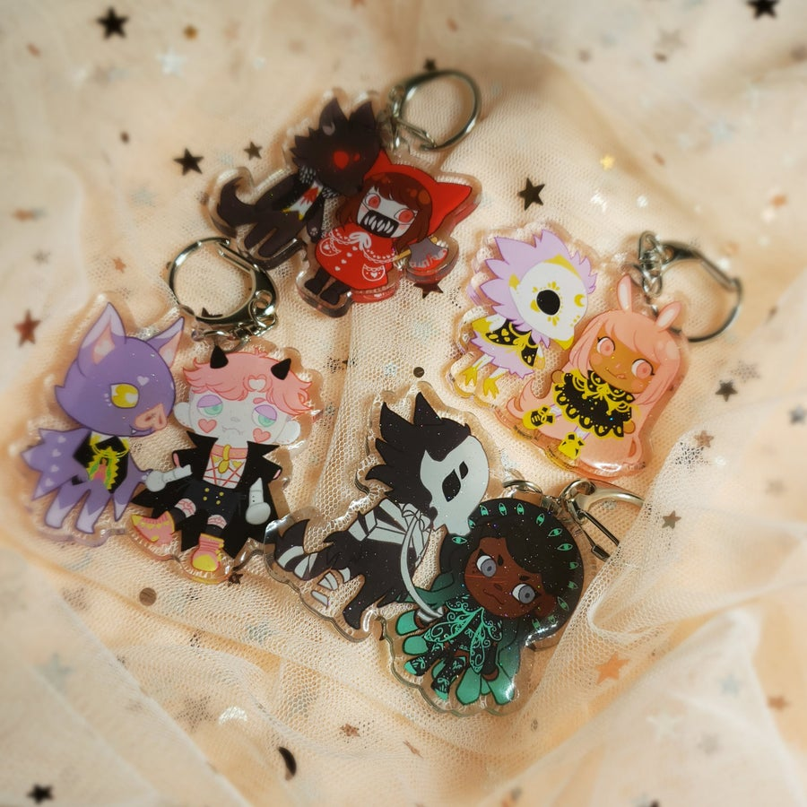 Image of Animal Crossing  OC charms