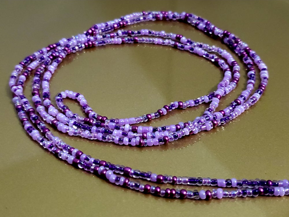 Image of The Aura of Purple Waistbeads