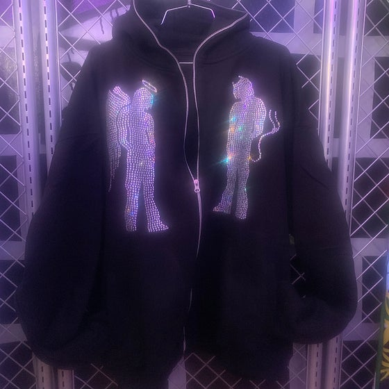 Image of DREAM BOYZ BLING ZIP UP