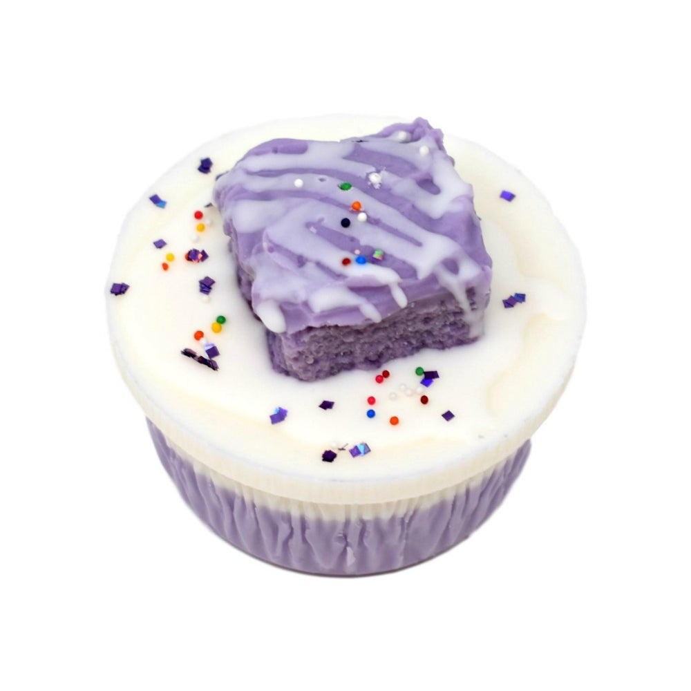 Image of Wax Cake - Lavender White Cake