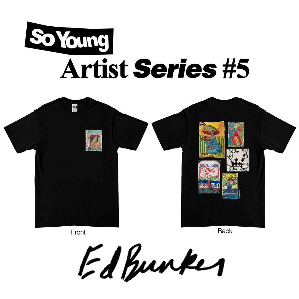 Image of Ed Burkes Artist Series T-Shirt PRE ORDER