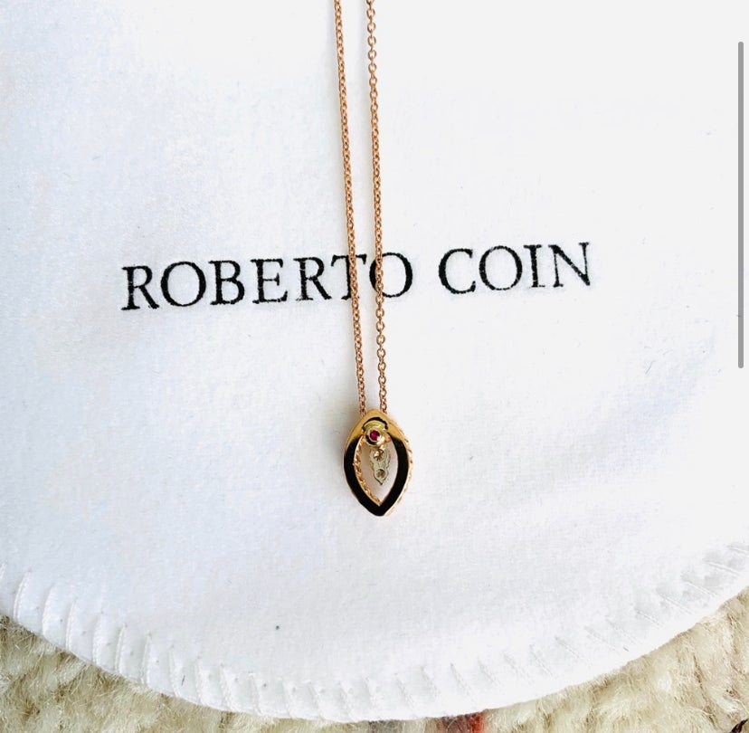 Image of New Roberto Coin Barocco 18kt Gold Necklace