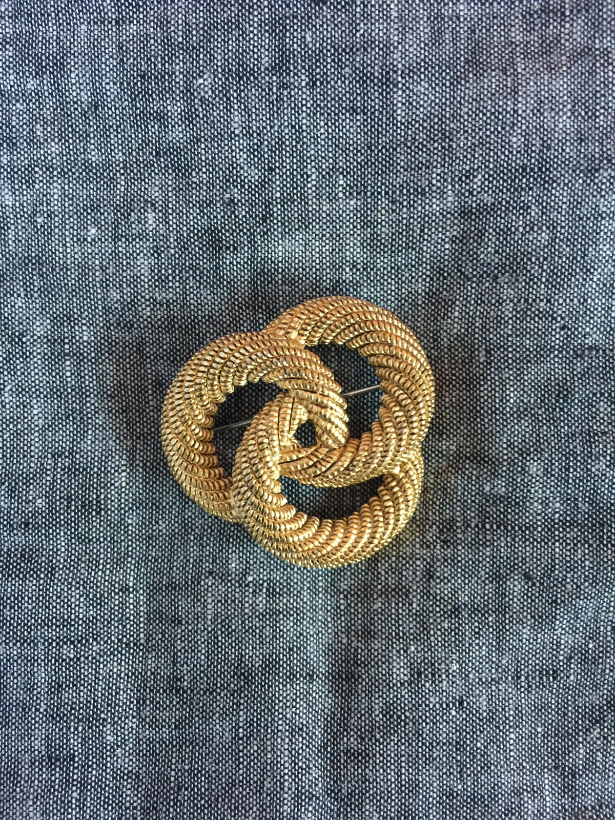 Image of Vintage Circles Brooch