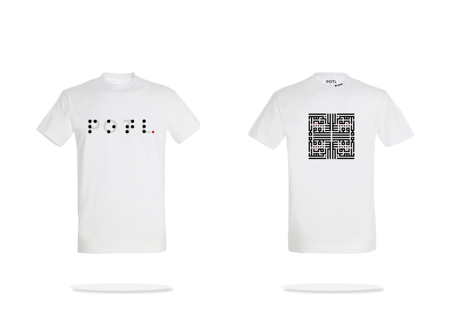 Image of Man t-shirt - White Inception