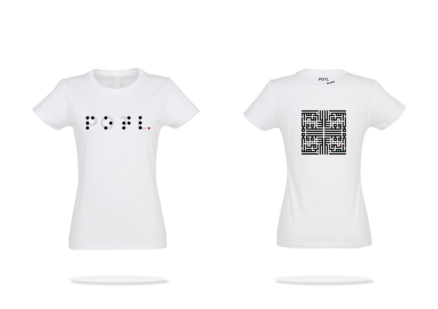 Image of Woman t-shirt - White Inception