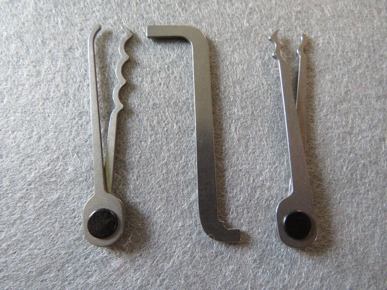 Image of OSS Titanium Lock Pick Set