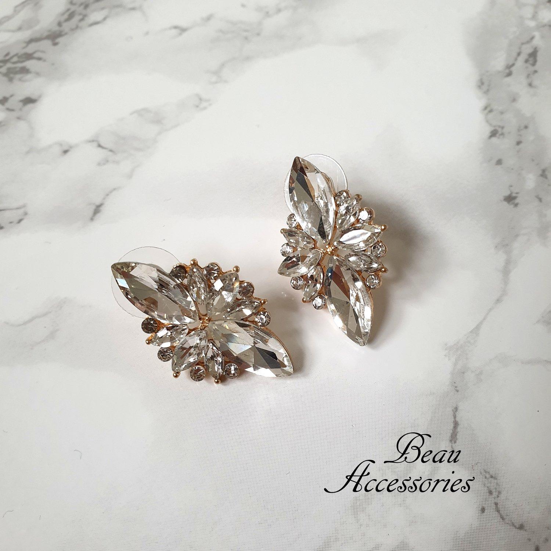Image of Rhinestone Crystal Studs