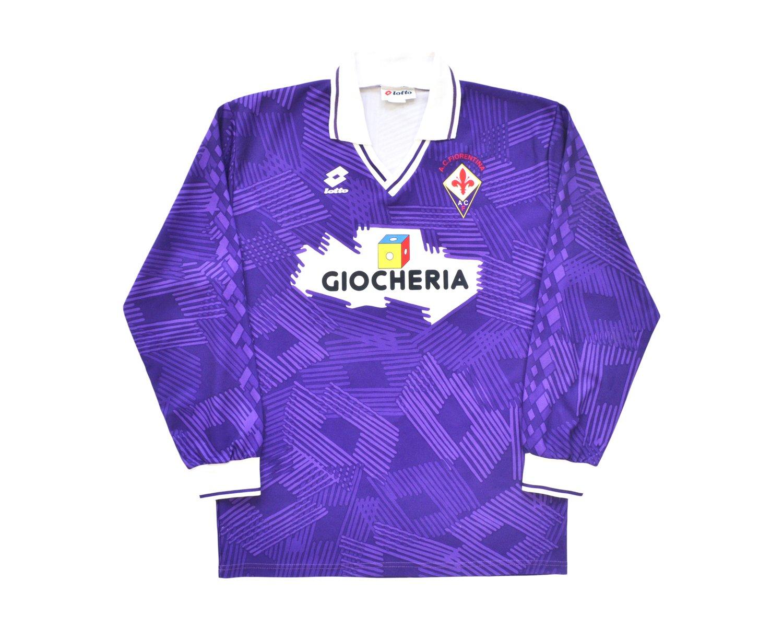 Image of 1991-92 Lotto Fiorentina Home Shirt L