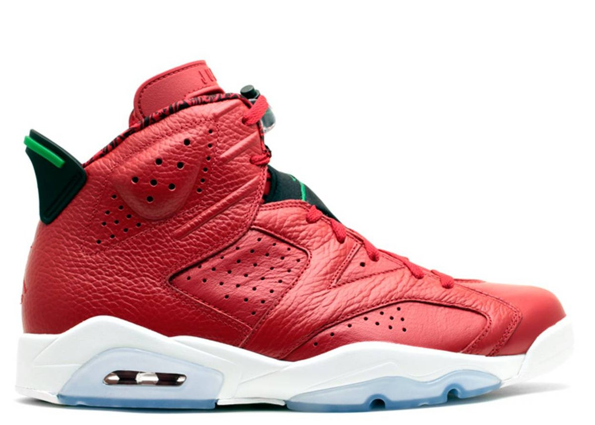 Image of AIR JORDAN 6 SPIZIKE 'HISTORY OF JORDAN'