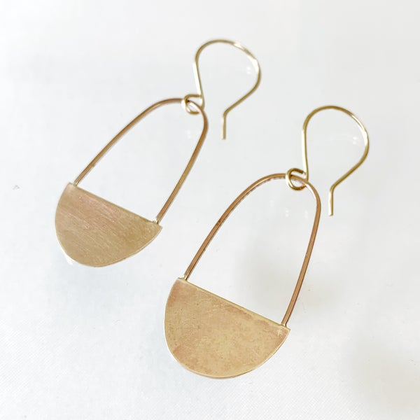 Image of Ovate Earrings