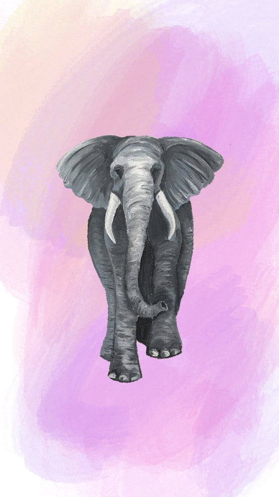 Image of Elephant Art Print