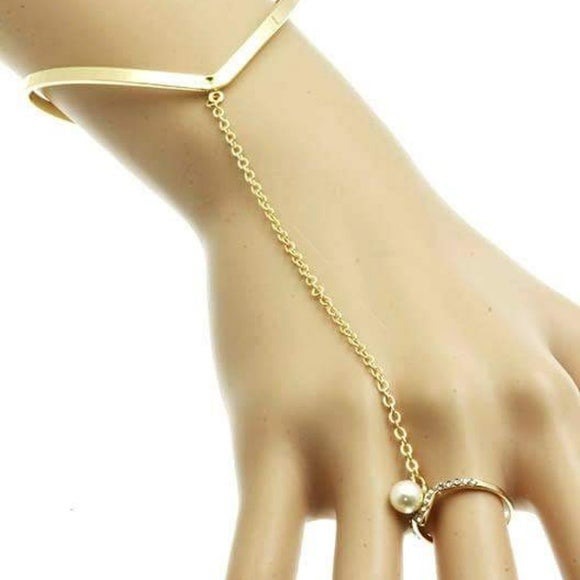 Image of ECLAT BRACELET WITH PEARL