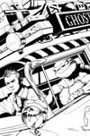TMNT/Ghostbuster II #2 Print
