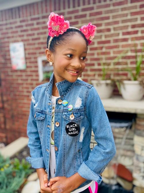Image of Black Girl Magic button