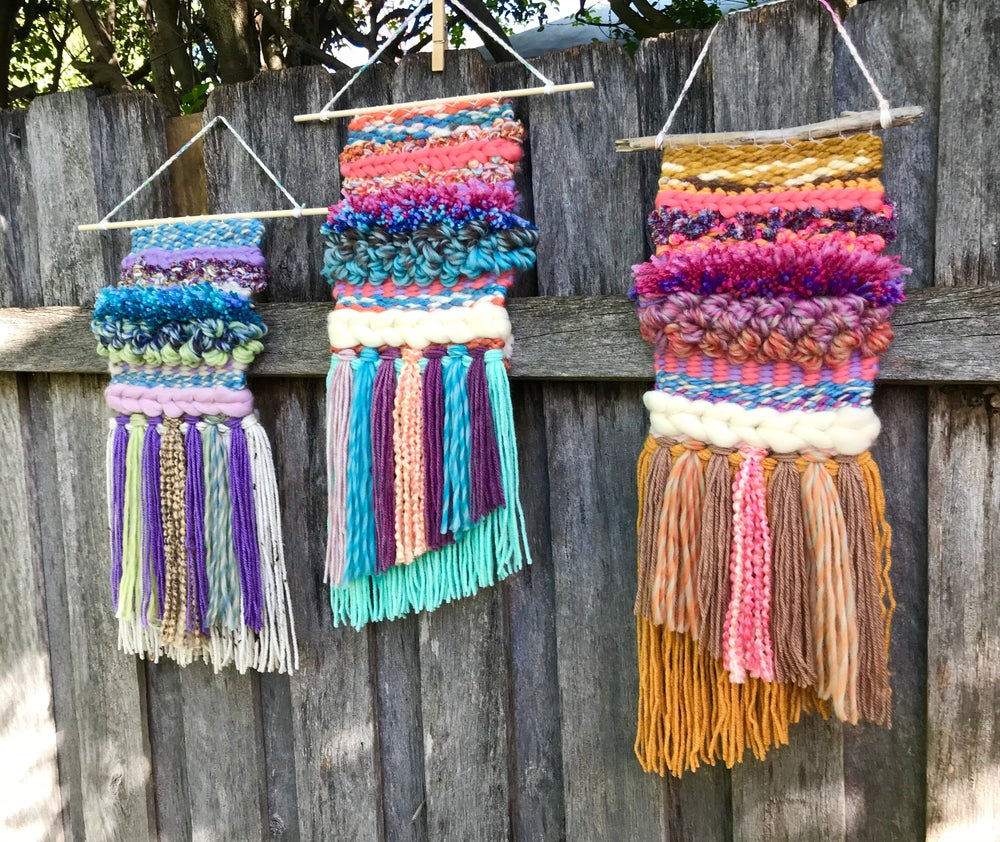 Weave a Woven Wall Hanging Saturday 20th February & March 6th 1:30-3:45