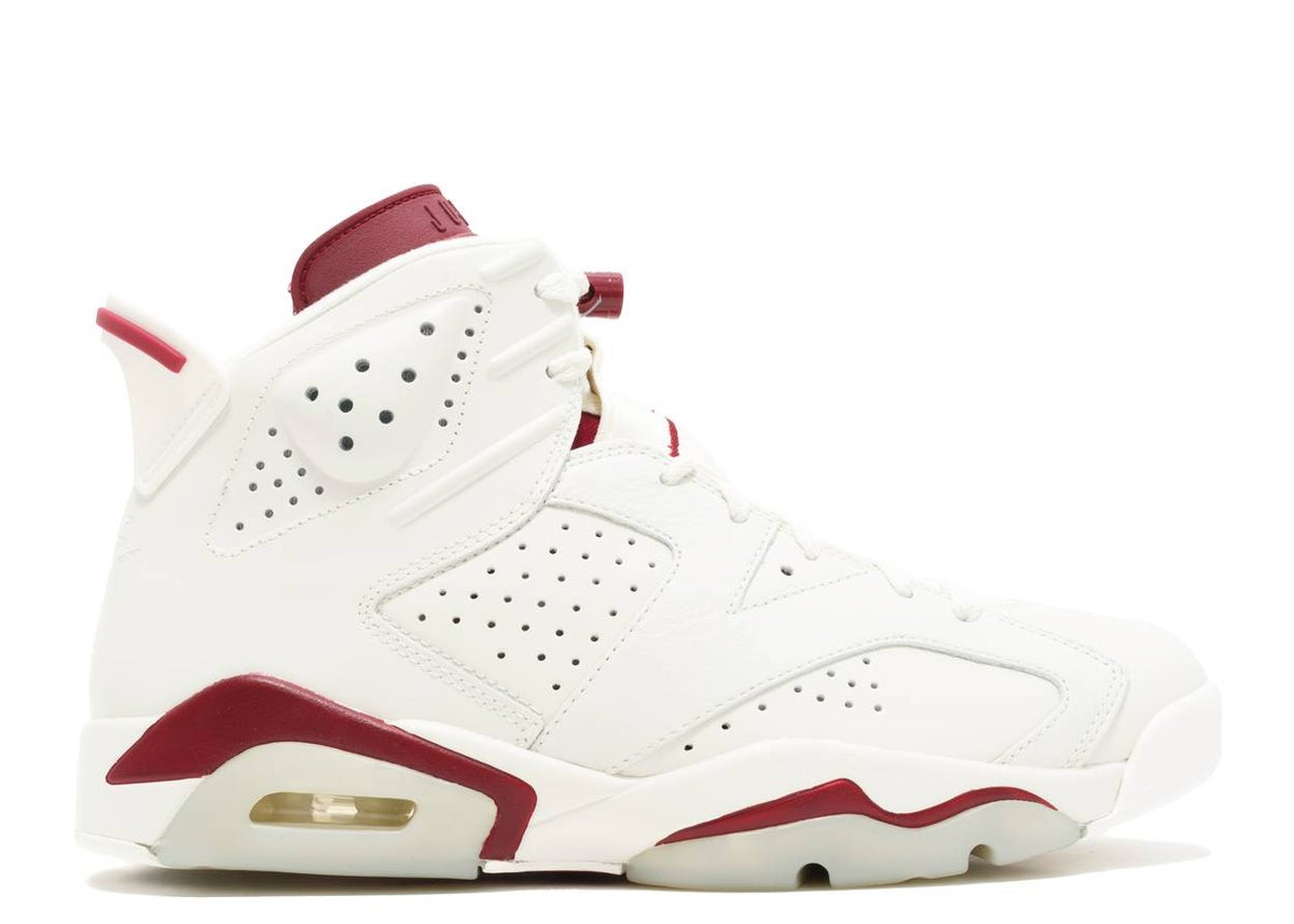 Image of AIR JORDAN 6 RETRO 'MAROON' 2015