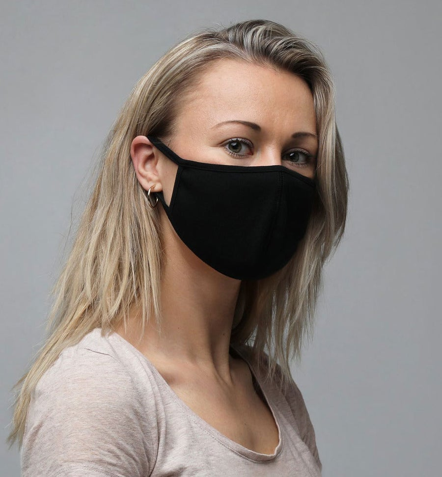 Image of Black Face Mask (3-Pack)