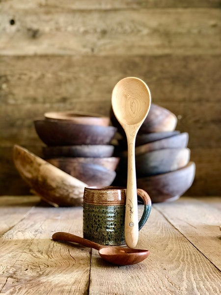 """Image of Cooking spoon large 15"""""""