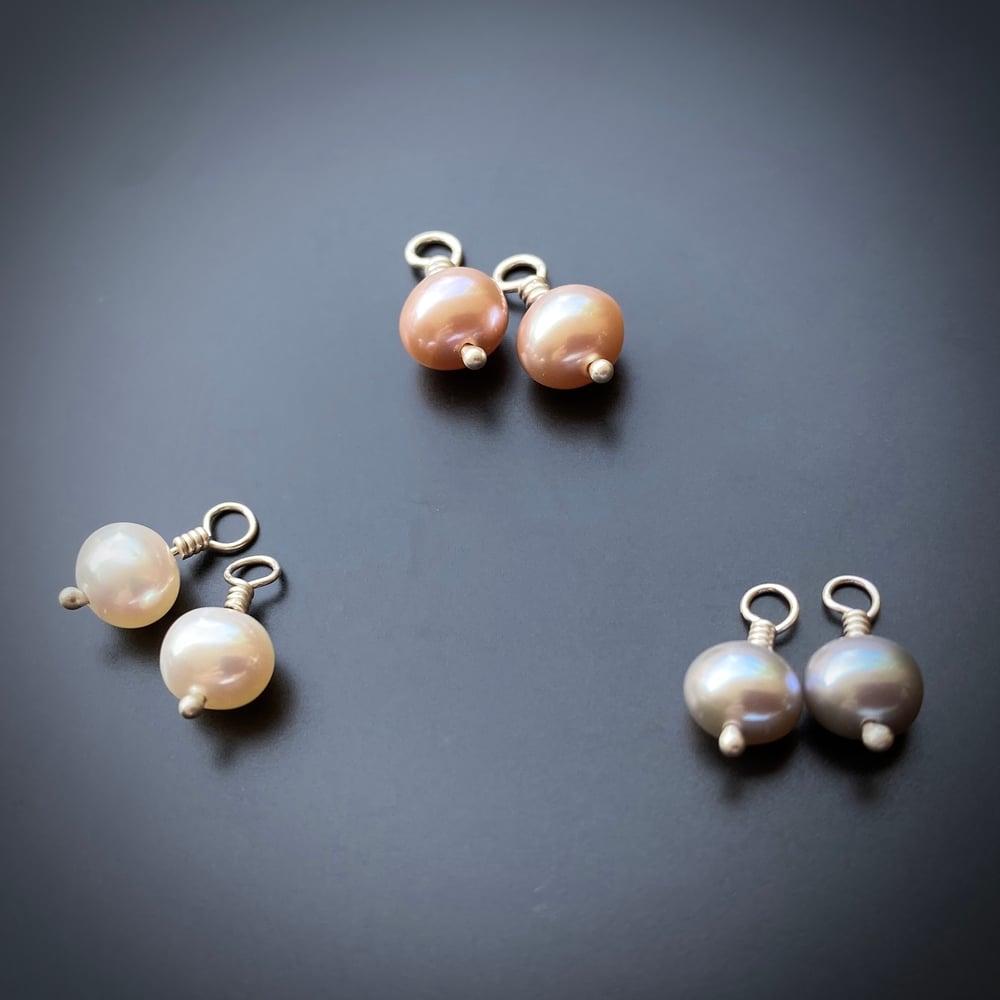Image of Pearl Dangles