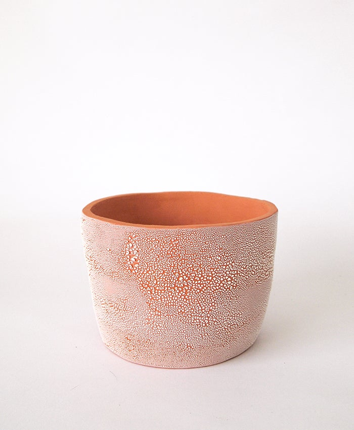 Image of Textured Terracotta Pot No 10
