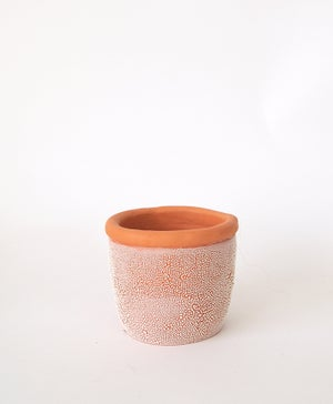 Textured Terracotta Planter no 12