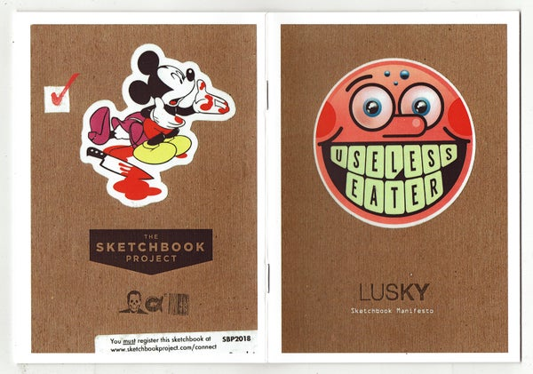 Image of LUSKY Sketchbook Manifesto.