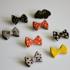 Handmade Clay Pins! Bats n Bows Image 4