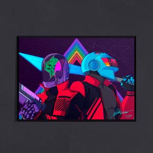Image of Daft CyberPunk 2077 Print