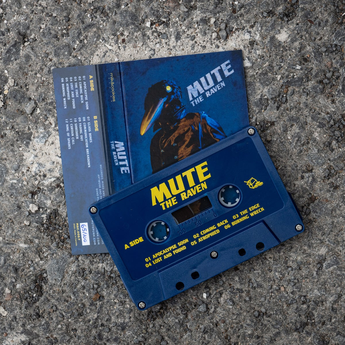 MUTE - The Raven (cassette)