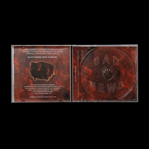 Image of Black Fingers - Bad News [CD]