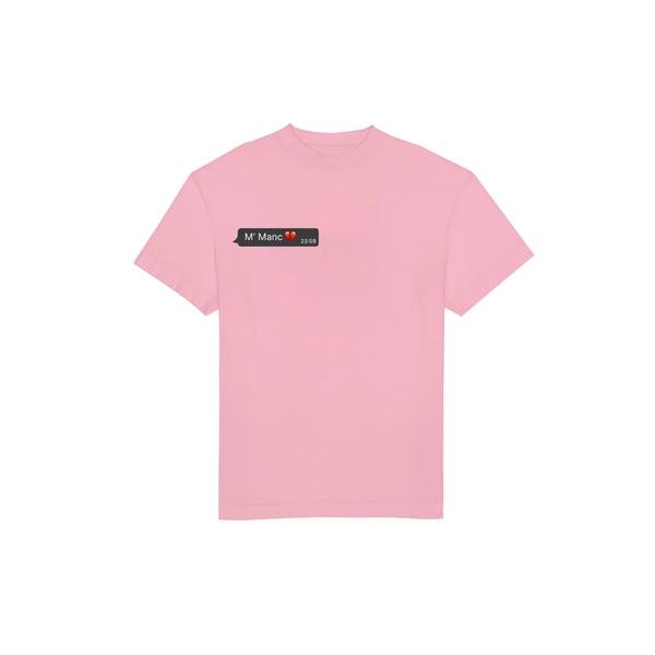 Image of T-shirt M'manc pink