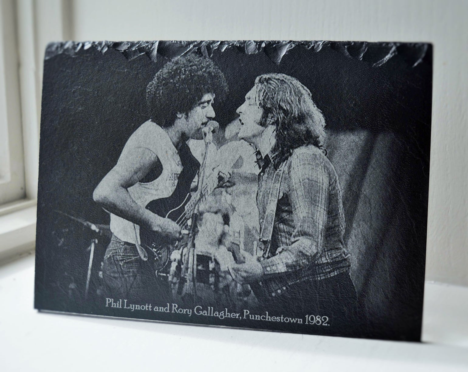 Image of Phil Lynott & Rory Gallagher