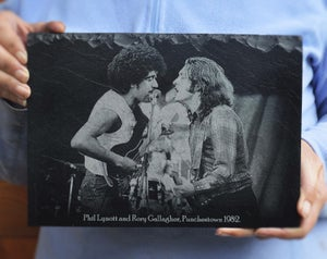 Phil Lynott & Rory Gallagher
