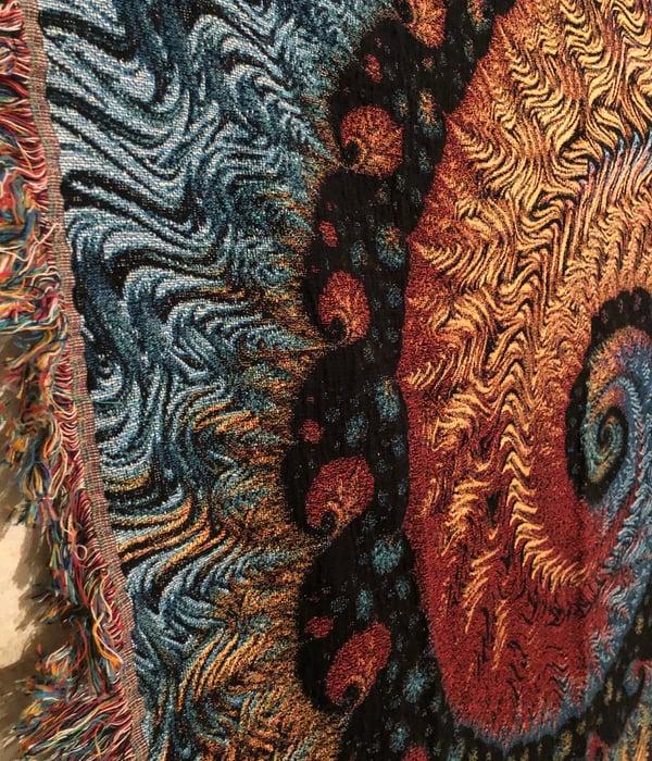 Image of Woven Blanket #10