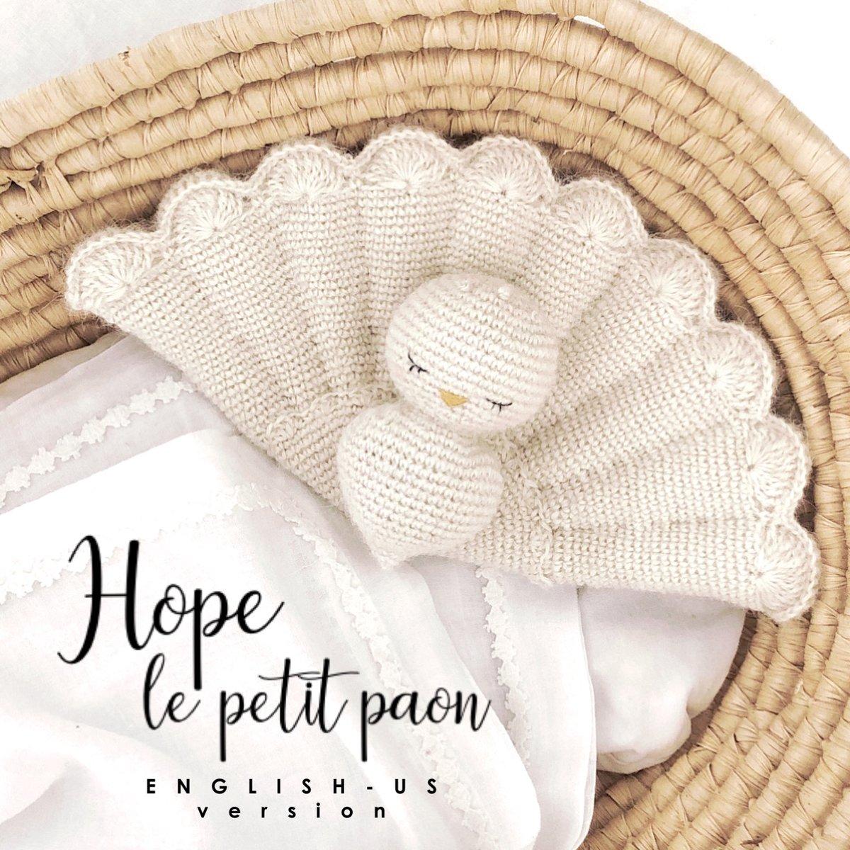 Image of English Pattern HOPE LE PETIT PAON