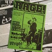 Image of RAGE! Fanzine #1