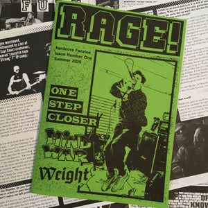 Image of RAGE! Fanzine Number One