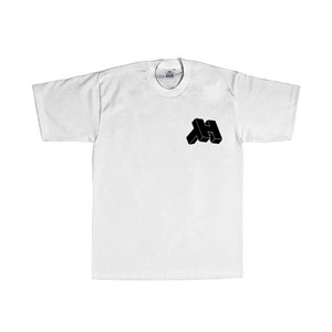 Image of CONSOLE ® LOGO T-SHIRT (MILK / BLACK)