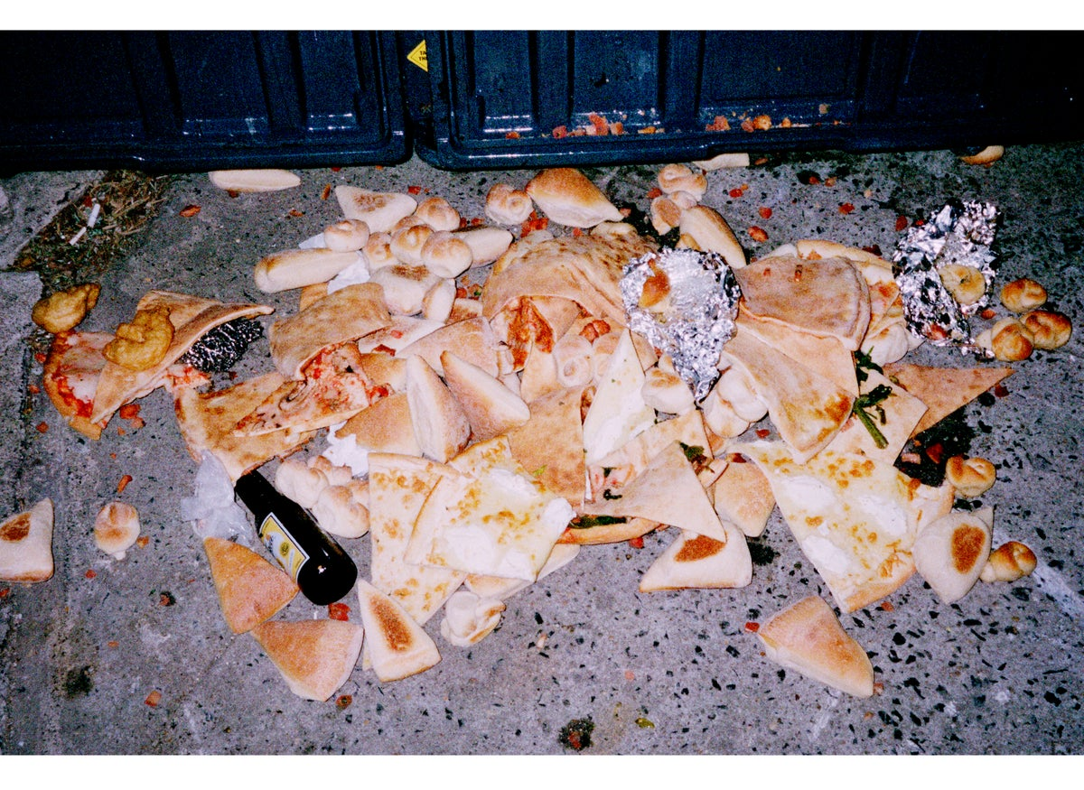 Image of Pile Of Pizza