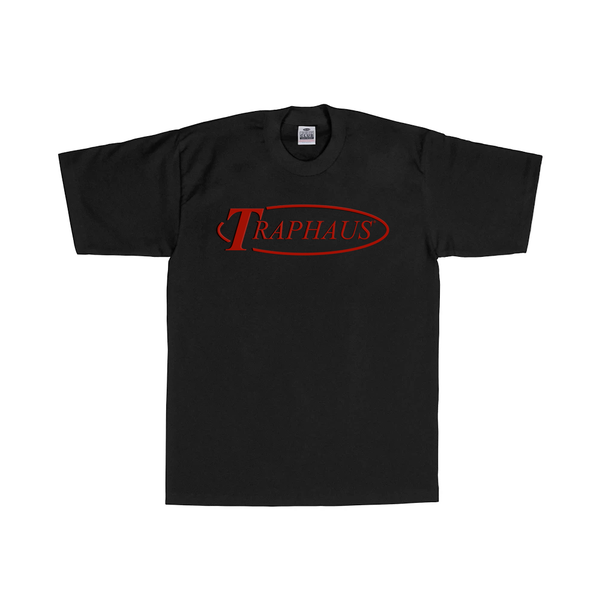 Image of TURBULENCE ® LOGO T-SHIRT (BLACK / CHERRY)