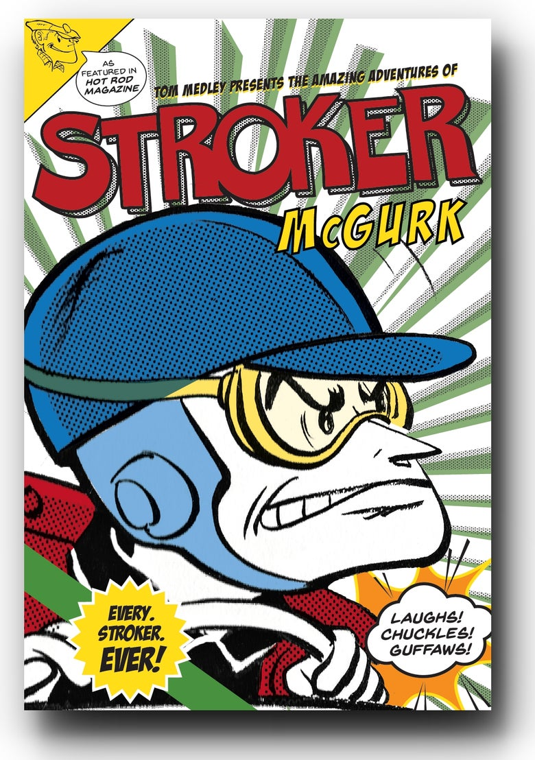 Image of The Amazing Adventures of Stroker McGurk - Comic