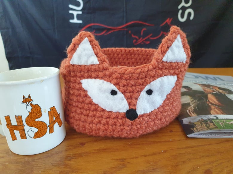 Image of Knitted Fox Bowl